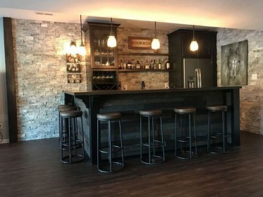 Cozy Home Bar Designs Ideas To Make You Cozy 37