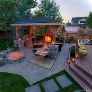 Cozy Outdoor Kitchen Decor Ideas For You 04