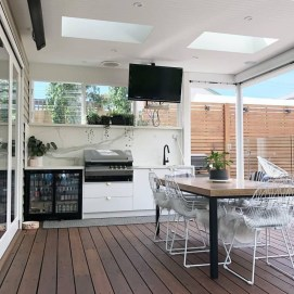 Cozy Outdoor Kitchen Decor Ideas For You 08