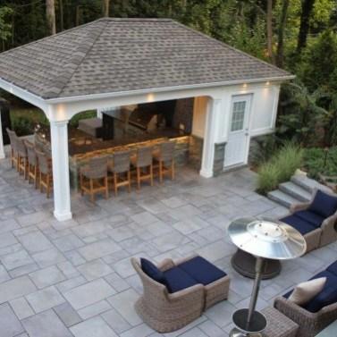 Cozy Outdoor Kitchen Decor Ideas For You 18