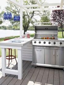 Cozy Outdoor Kitchen Decor Ideas For You 23