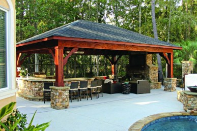 Cozy Outdoor Kitchen Decor Ideas For You 42