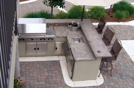 Cozy Outdoor Kitchen Decor Ideas For You 49