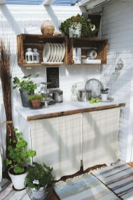 Cozy Outdoor Kitchen Decor Ideas For You 51