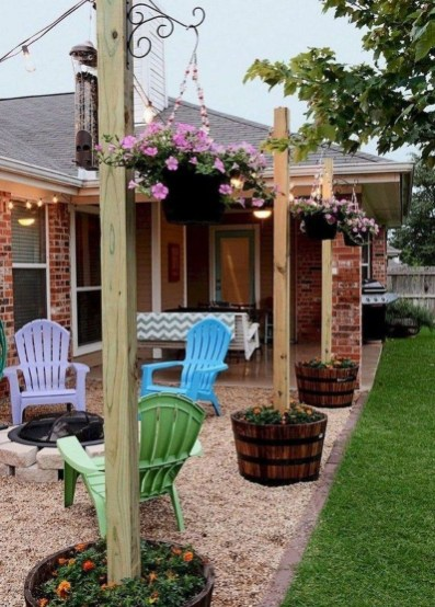 Enchanting Backyard Patio Remodel Ideas To Try 07