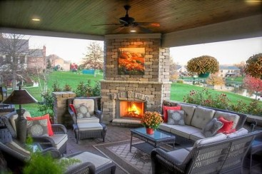 Enchanting Backyard Patio Remodel Ideas To Try 31