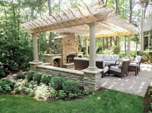 Enchanting Backyard Patio Remodel Ideas To Try 40