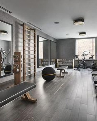 Enchanting Home Gym Spaces Design Ideas To Try Asap 26