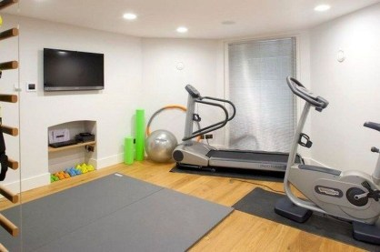 Enchanting Home Gym Spaces Design Ideas To Try Asap 36