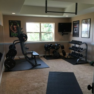 Enchanting Home Gym Spaces Design Ideas To Try Asap 41