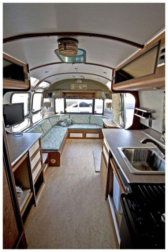 Excellent Airstream Interior Design Ideas To Copy Asap 29