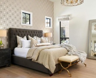 Fancy Champagne Bedroom Design Ideas To Try 25