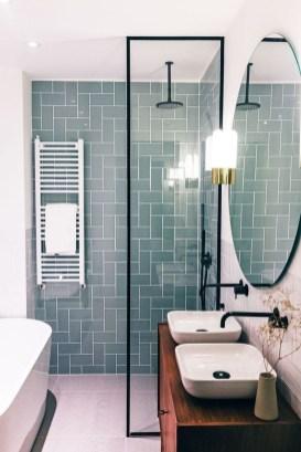 Inspiring Small Bathroom Design Ideas With Wood Decor To Inspire 08