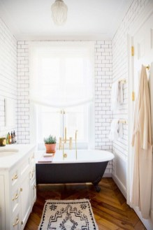 Inspiring Small Bathroom Design Ideas With Wood Decor To Inspire 12