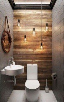 Inspiring Small Bathroom Design Ideas With Wood Decor To Inspire 14