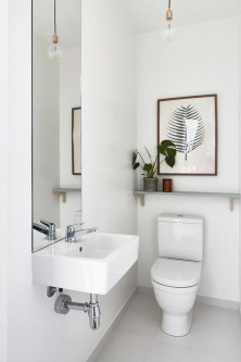 Inspiring Small Bathroom Design Ideas With Wood Decor To Inspire 38