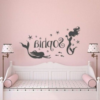 Magnificient Mermaid Themes Ideas For Children Kids Room 01