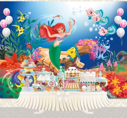 Magnificient Mermaid Themes Ideas For Children Kids Room 05