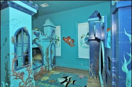 Magnificient Mermaid Themes Ideas For Children Kids Room 16