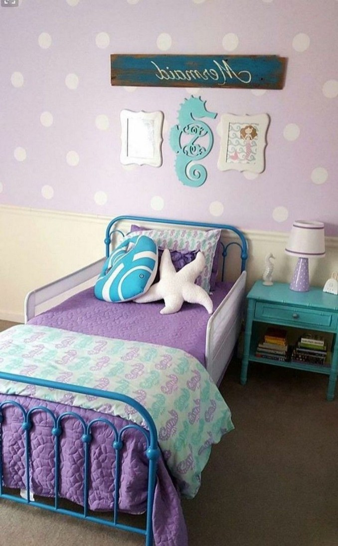 Magnificient Mermaid Themes Ideas For Children Kids Room 19