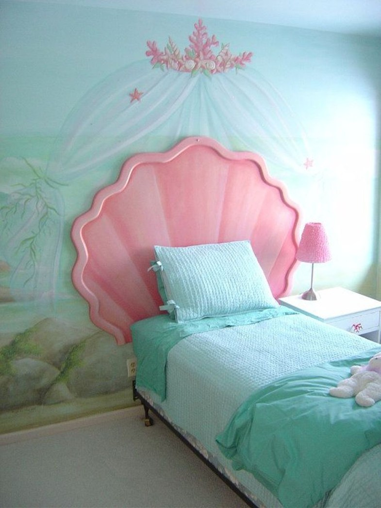 Magnificient Mermaid Themes Ideas For Children Kids Room 25