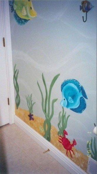 Magnificient Mermaid Themes Ideas For Children Kids Room 37