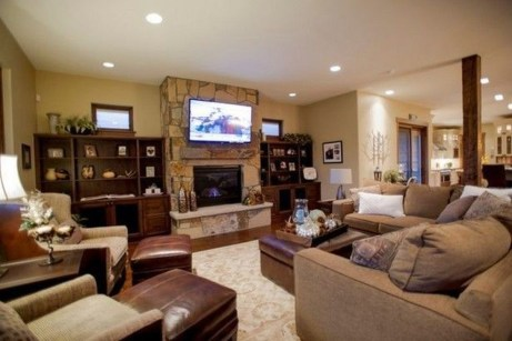 Superb Layout Design Ideas For Family Room 16