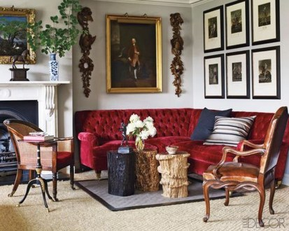 Superb Red Apartment Ideas With Rustic Accents 07
