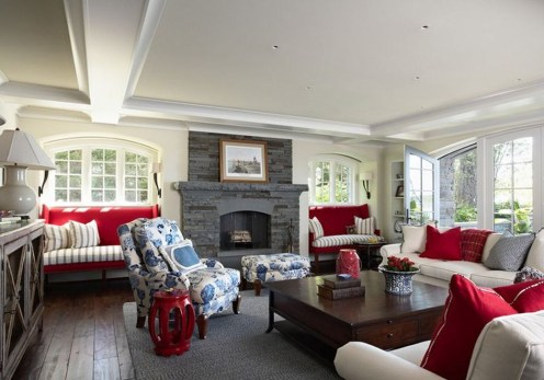 Superb Red Apartment Ideas With Rustic Accents 18