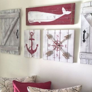 Superb Red Apartment Ideas With Rustic Accents 45