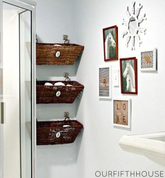 Affordable Diy Bathroom Storage Ideas For Small Spaces 33