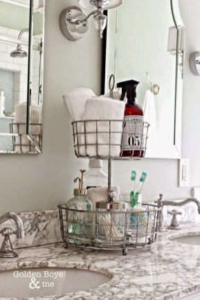 Affordable Diy Bathroom Storage Ideas For Small Spaces 41