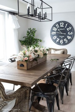 Astonishing Rustic Dining Room Desgin Ideas 13