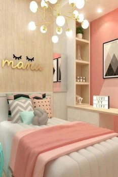 Cute And Girly Pink Bedroom Design For Your Home 06