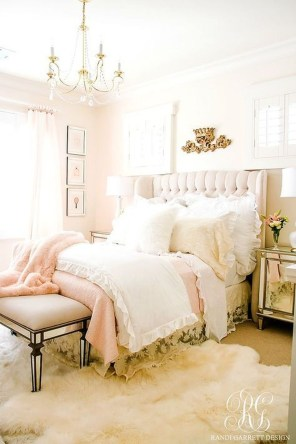Cute And Girly Pink Bedroom Design For Your Home 16