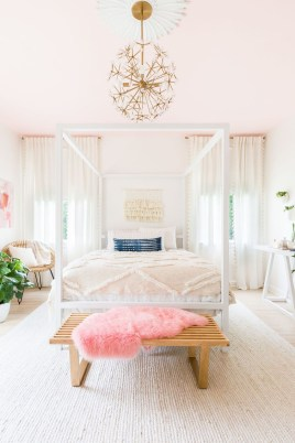 Cute And Girly Pink Bedroom Design For Your Home 23