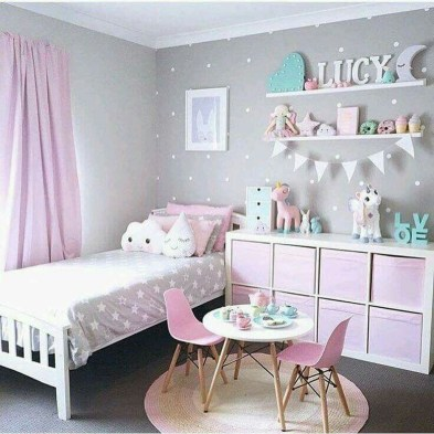Cute And Girly Pink Bedroom Design For Your Home 32