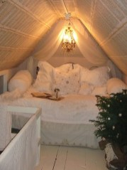 Elegant Small Attic Bedroom For Your Home 10