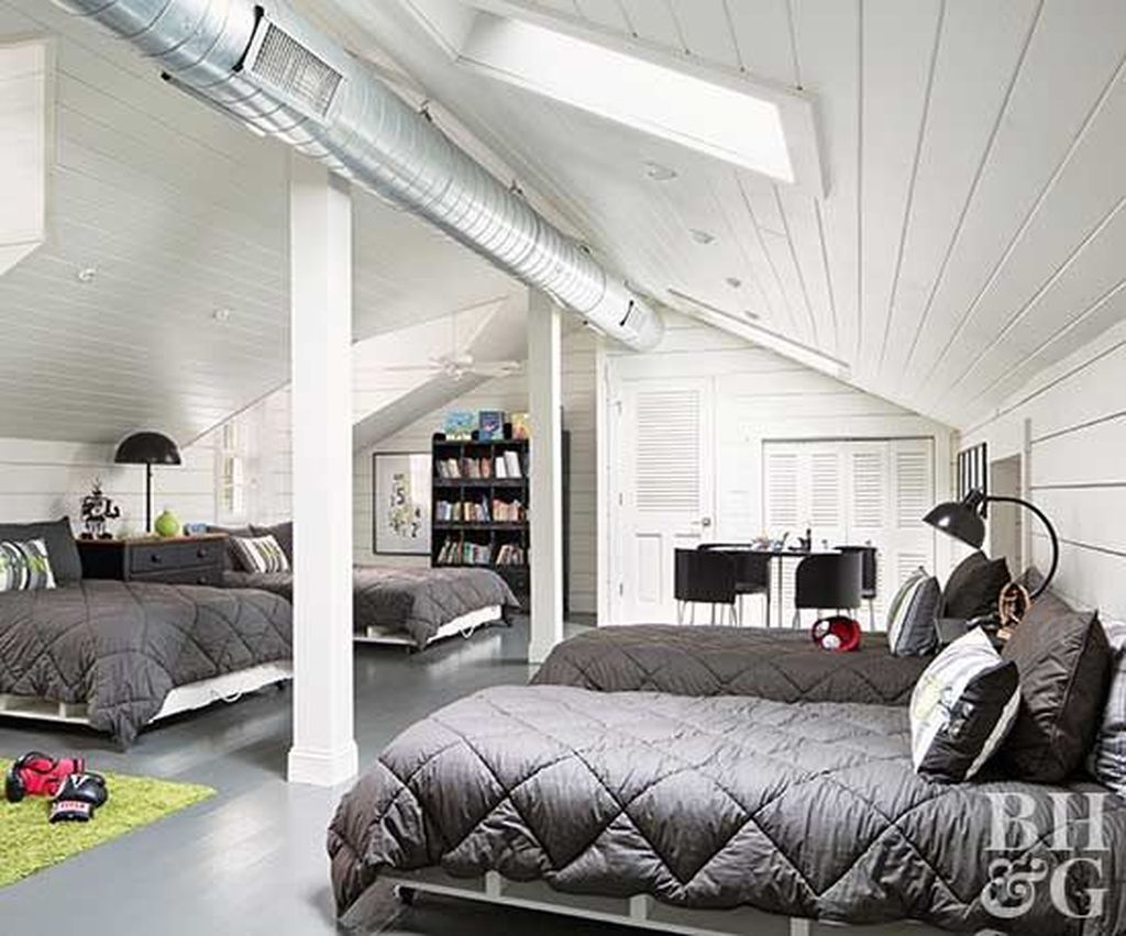 Elegant Small Attic Bedroom For Your Home 13