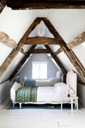Elegant Small Attic Bedroom For Your Home 18