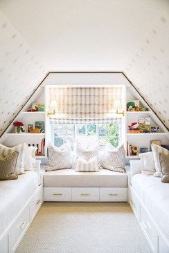 Elegant Small Attic Bedroom For Your Home 36