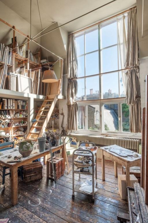 Fantastic Art Studio Apartment Design Ideas 32