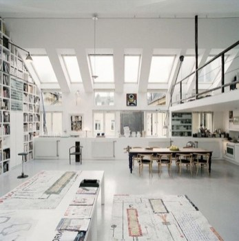 Fantastic Art Studio Apartment Design Ideas 34