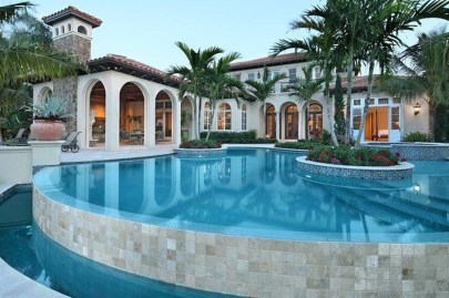 Gorgeous Mediterranean Swimming Pool Designs Out Of Your Dream 02