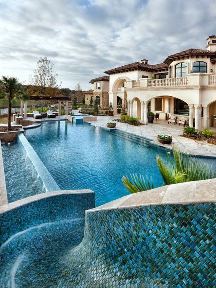 Gorgeous Mediterranean Swimming Pool Designs Out Of Your Dream 34