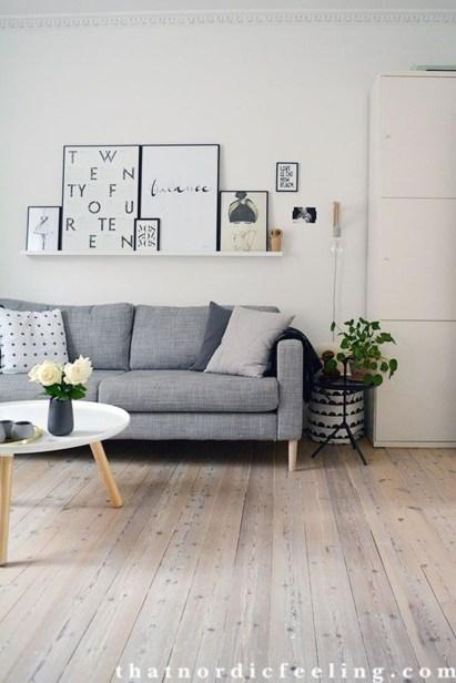 Gorgeous Scandinavian Living Room Design Ideas 01