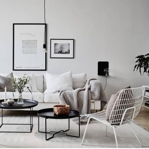Gorgeous Scandinavian Living Room Design Ideas 03