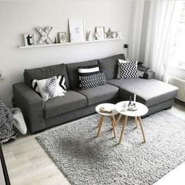 Gorgeous Scandinavian Living Room Design Ideas 10