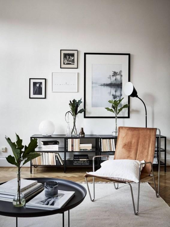 Gorgeous Scandinavian Living Room Design Ideas 21