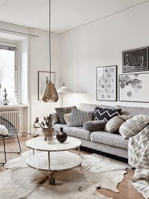 Gorgeous Scandinavian Living Room Design Ideas 25